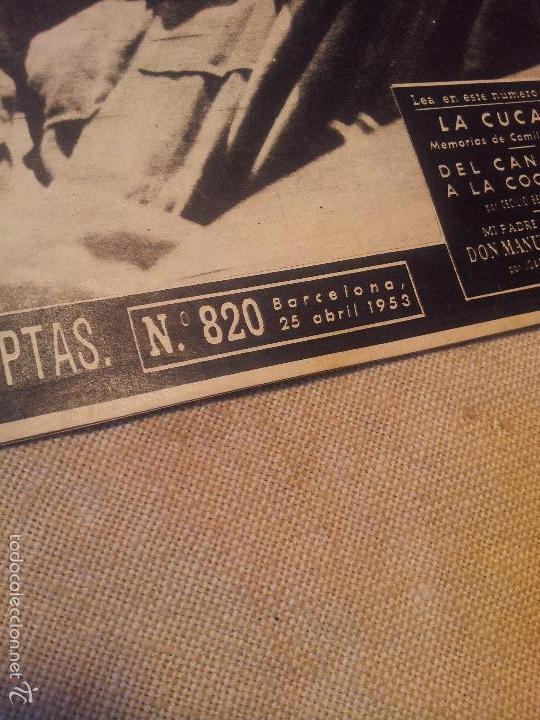 Coleccionismo de Revista Destino: REVISTA DESTINO AÑO.1953 N´820 PORTADA hacia un armisticio - Foto 3 - 57349849