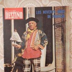 Coleccionismo de Revista Destino: REVISTA DESTINO Nº1775. Lote 58649634