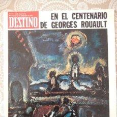 Coleccionismo de Revista Destino: REVISTA DESTINO Nº1786. Lote 58649642