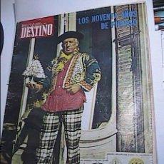 Coleccionismo de Revista Destino: REVISTA DESTINO. 9 OCTUBRE DE 1971. LOS NOVENTA AÑOS DE PICASSO.. Lote 58772886