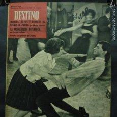 Collectionnisme de Magazine Destino: REVISTA DESTINO Nº 1278 - 3 FEBRERO 1962-LA EPIDEMIA DEL TWIST-LA MONARQUÍA BRITÁNICA POR A. OLIVERA. Lote 58978475