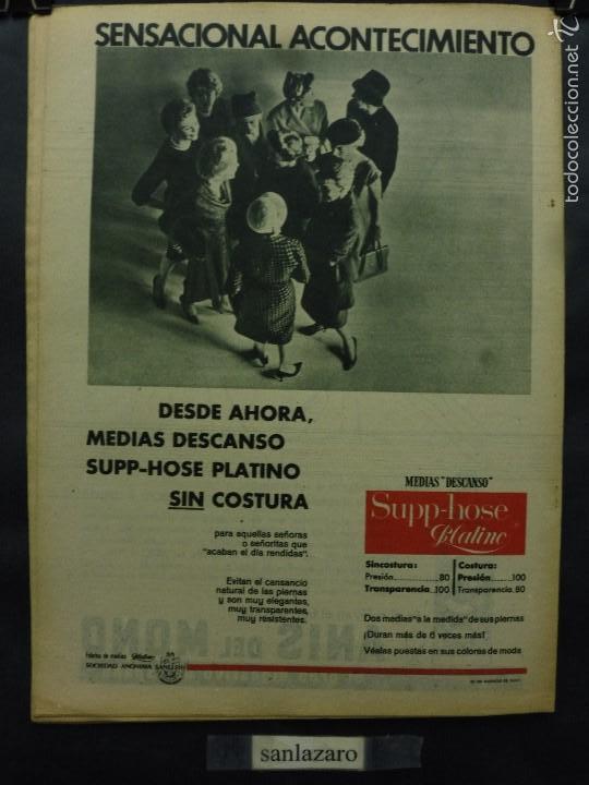 Coleccionismo de Revista Destino: REVISTA DESTINO Nº 1282 - 3 MARZO 1962-LA NOCHE ES LARGA EN ARGELIA-EN LA MUERTE DE JULIO CAMBA - Foto 2 - 58979155