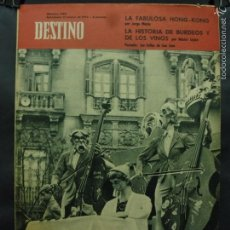 Coleccionismo de Revista Destino: REVISTA DESTINO Nº 1284 - 17 MARZO 1962- LAS FALLAS DE SAN JOSÉ-LA FABULOSA HISTORIA DE KING-KONG. Lote 59102090