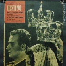 Coleccionismo de Revista Destino: REVISTA DESTINO Nº 1293 -19 MAYO 1962- BODA DE LOS PRÍNCIPES EN ATENAS-ANTE EL TELÓN DE BAMBÚ. Lote 59106375