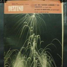 Coleccionismo de Revista Destino: REVISTA DESTINO Nº 1298 -23 JUNIO 1962- LA NOCHE DE SAN JUAN-LOS TRES PARTIDOS ALEMANES. Lote 59107080