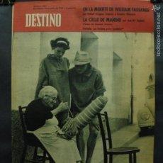 Coleccionismo de Revista Destino: REVISTA DESTINO Nº 1301 -14 JULIO 1962- LOS TURISTAS Y LA PUNTAIRE-LA CALLE DE MANDRI. Lote 59107460