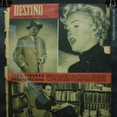 Coleccionismo de Revista Destino: REVISTA DESTINO Nº 1305 -11 AGOSTO 1962- TRES FIGURAS DESAPARECIDAS-LA BARCELONA VENEZOLANA. Lote 59109045