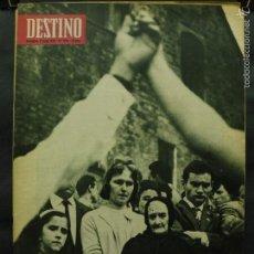 Colecionismo da Revista Destino: REVISTA DESTINO Nº 1396 -9 MAYO 1964- LAS MANOS ENTRELAZADAS-SEMBLANZA DE UN DICTADOR (A.HITLER). Lote 59195735