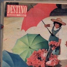 Coleccionismo de Revista Destino: REVISTA DESTINO NÚMERO 1000 EXTRAORDINARIO OCTUBRE 1956. Lote 63623911