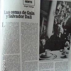 Coleccionismo de Revista Destino: DALI -REORTAGE EN REVISTA DESTINO 1979. Lote 69039885