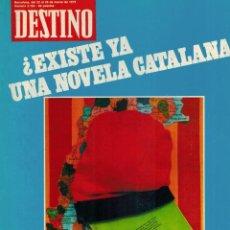 Coleccionismo de Revista Destino: REVISTA DESTINO, MARZO DE 1979. Lote 70144433