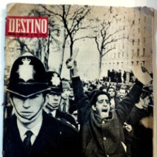 Coleccionismo de Revista Destino: REVISTA DESTINO - AÑO 1968 - Nº 1588 EN PORTADA- CRISIS RACIAL EN GRAN BRETAÑA. Lote 71758687