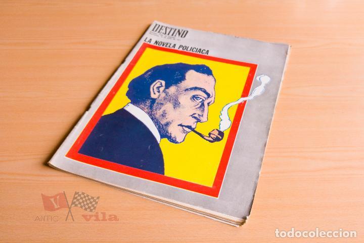 DESTINO Nº 1758 - 1971 - LA NOVELA POLICIACA (Coleccionismo - Revistas y Periódicos Modernos (a partir de 1.940) - Revista Destino)