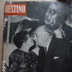 Coleccionismo de Revista Destino: MIGUEL ANGEL ASTURIAS PREMIO NOBEL -1967 REVISTA DESTINO. Lote 79812029