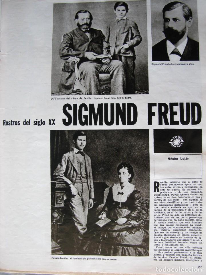 PPRLY - SIGMUND FREUD POR NESTOR LUJAN.PREMIOS NADAL Y JOSEP PLA 1972. VER SUMARIO. (Coleccionismo - Revistas y Periódicos Modernos (a partir de 1.940) - Revista Destino)