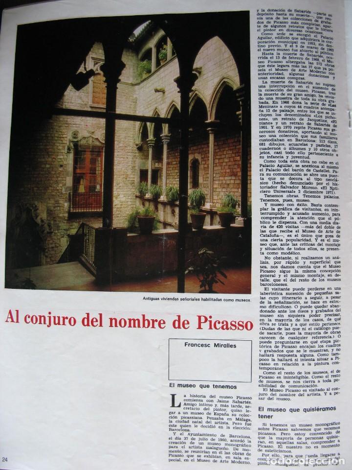PPRLY - MUSEO ARTE CONTEMPORÁNEO DE BARCELONA.MUSEO PARA GERONA . VER SUMARIO. (Coleccionismo - Revistas y Periódicos Modernos (a partir de 1.940) - Revista Destino)