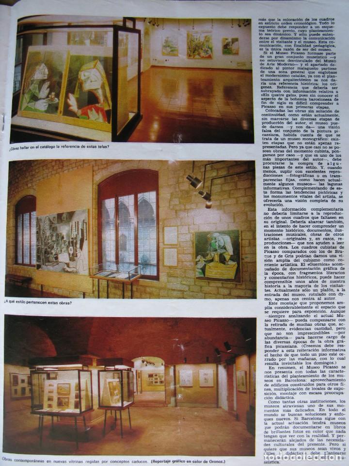 Coleccionismo de Revista Destino: PPRLY - Museo arte contemporáneo de Barcelona.Museo para Gerona . Ver sumario. - Foto 2 - 83101900