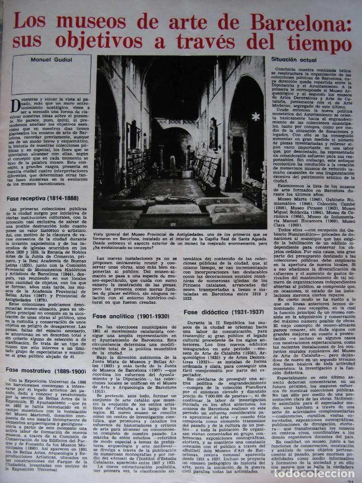 Coleccionismo de Revista Destino: PPRLY - Museo arte contemporáneo de Barcelona.Museo para Gerona . Ver sumario. - Foto 3 - 83101900