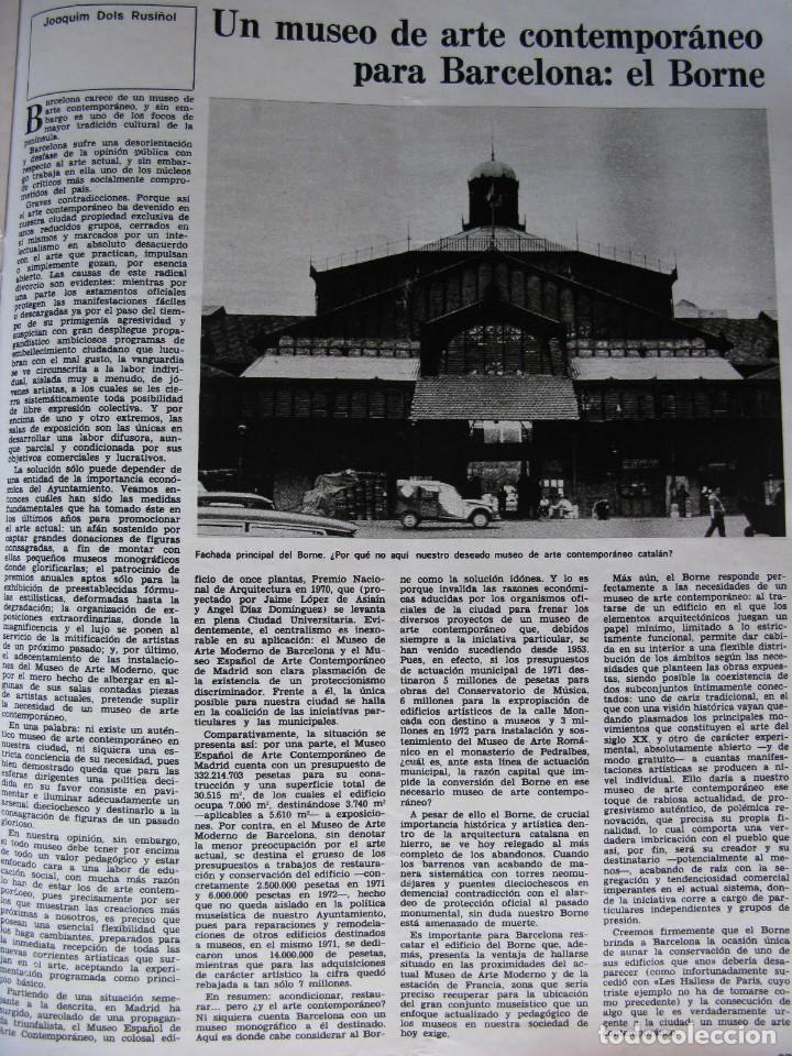 Coleccionismo de Revista Destino: PPRLY - Museo arte contemporáneo de Barcelona.Museo para Gerona . Ver sumario. - Foto 4 - 83101900