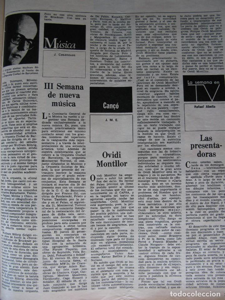 Coleccionismo de Revista Destino: PPRLY - Museo arte contemporáneo de Barcelona.Museo para Gerona . Ver sumario. - Foto 6 - 83101900