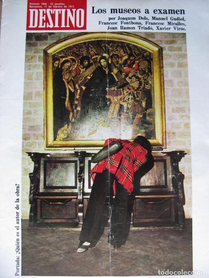 Coleccionismo de Revista Destino: PPRLY - Museo arte contemporáneo de Barcelona.Museo para Gerona . Ver sumario. - Foto 9 - 83101900