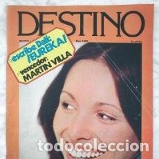REVISTA DESTINO - Nº 2055 - 1977 - ANA BELÉN, ESCRIBE DALÍ: ¡EUREKA!, CULTURA CATALANA/ 18 (Coleccionismo - Revistas y Periódicos Modernos (a partir de 1.940) - Revista Destino)