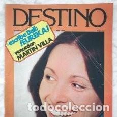 Coleccionismo de Revista Destino: REVISTA DESTINO - Nº 2055 - 1977 - ANA BELÉN, ESCRIBE DALÍ: ¡EUREKA!, CULTURA CATALANA/ 18. Lote 83644132