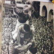 Collectionnisme de Magazine Destino: REVISTA DESTINO Nº 705 DEL 10 FEBRERO DE 1951 - CASTELLERS EN VALLS . Lote 85321628