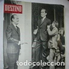 Coleccionismo de Revista Destino: REVISTA DESTINO 1622 / NOVIEMBRE 1968 / NIXON O HUMPHREY? / 44. Lote 85341212