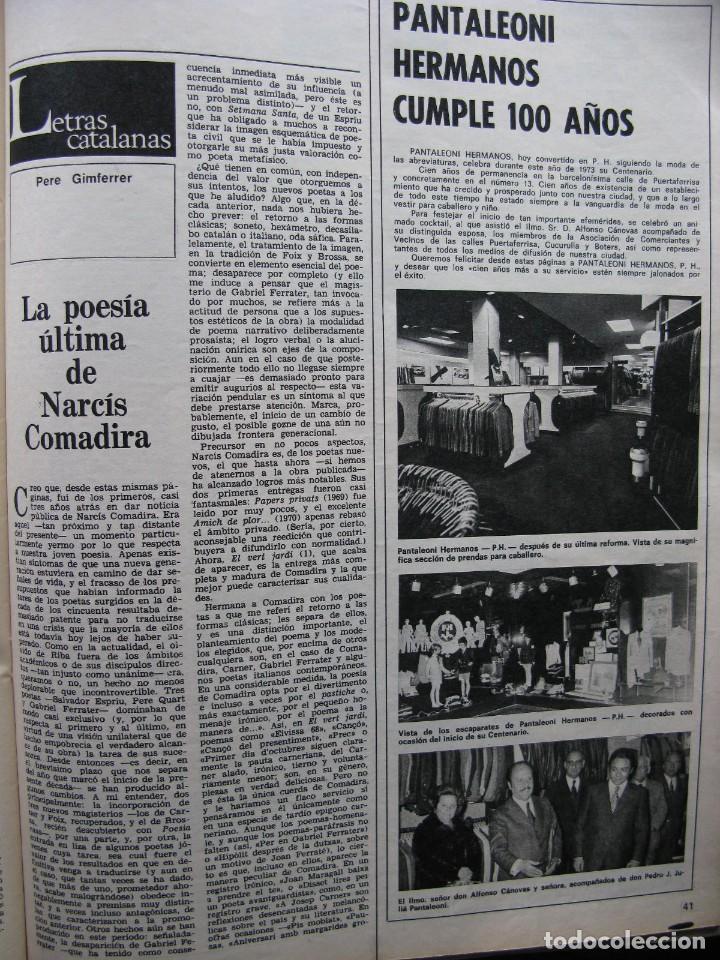 Coleccionismo de Revista Destino: PPRLY - NEWMARKET: CUNA DEL PURA SANGRE. HABLA EL CINE ESPAÑOL: CARLOS SAURA. VER SUMARIO. - Foto 3 - 85451424