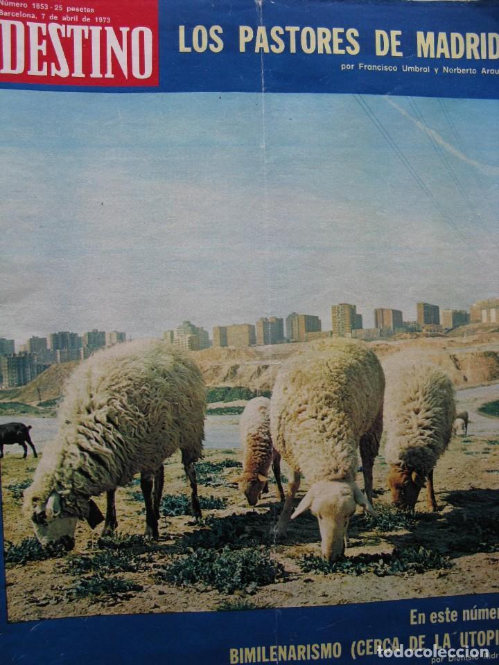 Coleccionismo de Revista Destino: PPRLY - SANT PERE DE RODA EN SU ASPECTO JURÍDICO-SOCIAL. J.V. FOIX EN PROSA. VER SUMARIO. - Foto 2 - 85879512
