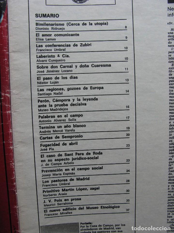 Coleccionismo de Revista Destino: PPRLY - SANT PERE DE RODA EN SU ASPECTO JURÍDICO-SOCIAL. J.V. FOIX EN PROSA. VER SUMARIO. - Foto 3 - 85879512