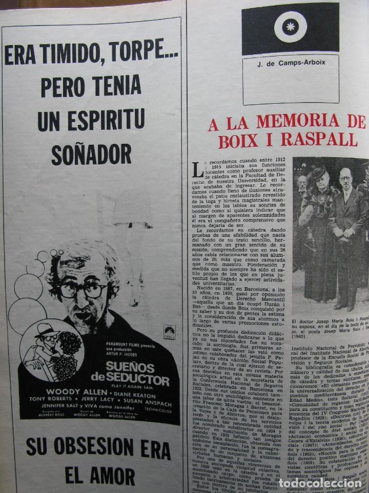Coleccionismo de Revista Destino: PPRLY - JOAN MIRÓ: 80 AÑOS. LA COLECCIÓN JOAN PRATS. VER SUMARIO. - Foto 4 - 85882512