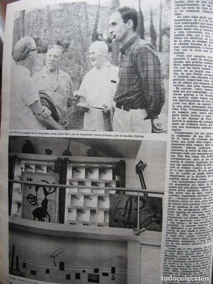 Coleccionismo de Revista Destino: PPRLY - JOAN MIRÓ: 80 AÑOS. LA COLECCIÓN JOAN PRATS. VER SUMARIO. - Foto 8 - 85882512