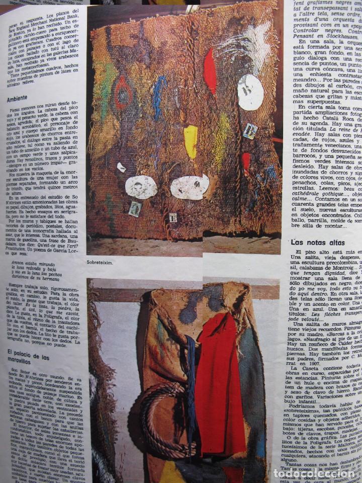 Coleccionismo de Revista Destino: PPRLY - JOAN MIRÓ: 80 AÑOS. LA COLECCIÓN JOAN PRATS. VER SUMARIO. - Foto 10 - 85882512
