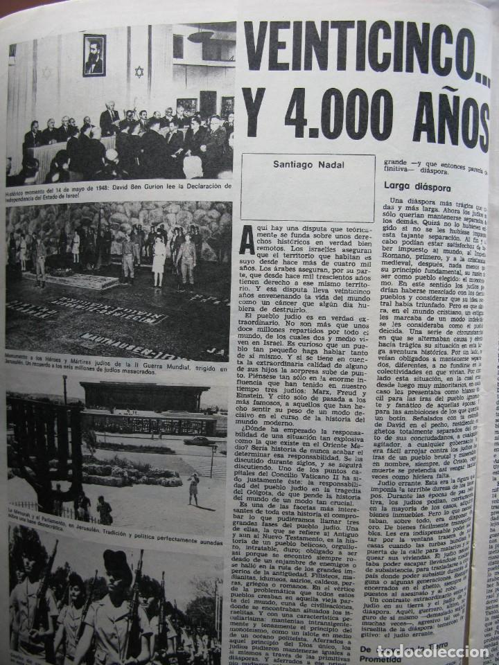 PPRLY - 25 ANIVERSARIO DE LA FUNDACIÓN DE ISRAEL. CARTAS DE SEMPRONIO. VER SUMARIO. (Coleccionismo - Revistas y Periódicos Modernos (a partir de 1.940) - Revista Destino)