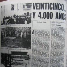 Coleccionismo de Revista Destino: PPRLY - 25 ANIVERSARIO DE LA FUNDACIÓN DE ISRAEL. CARTAS DE SEMPRONIO. VER SUMARIO.. Lote 85890732