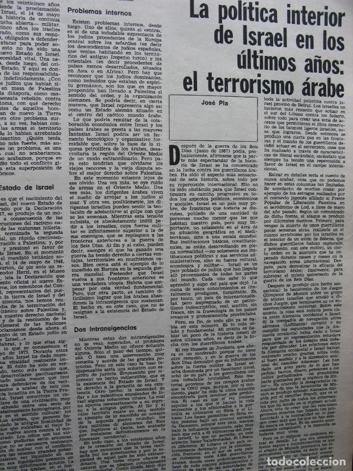 Coleccionismo de Revista Destino: PPRLY - 25 ANIVERSARIO DE LA FUNDACIÓN DE ISRAEL. CARTAS DE SEMPRONIO. VER SUMARIO. - Foto 6 - 85890732