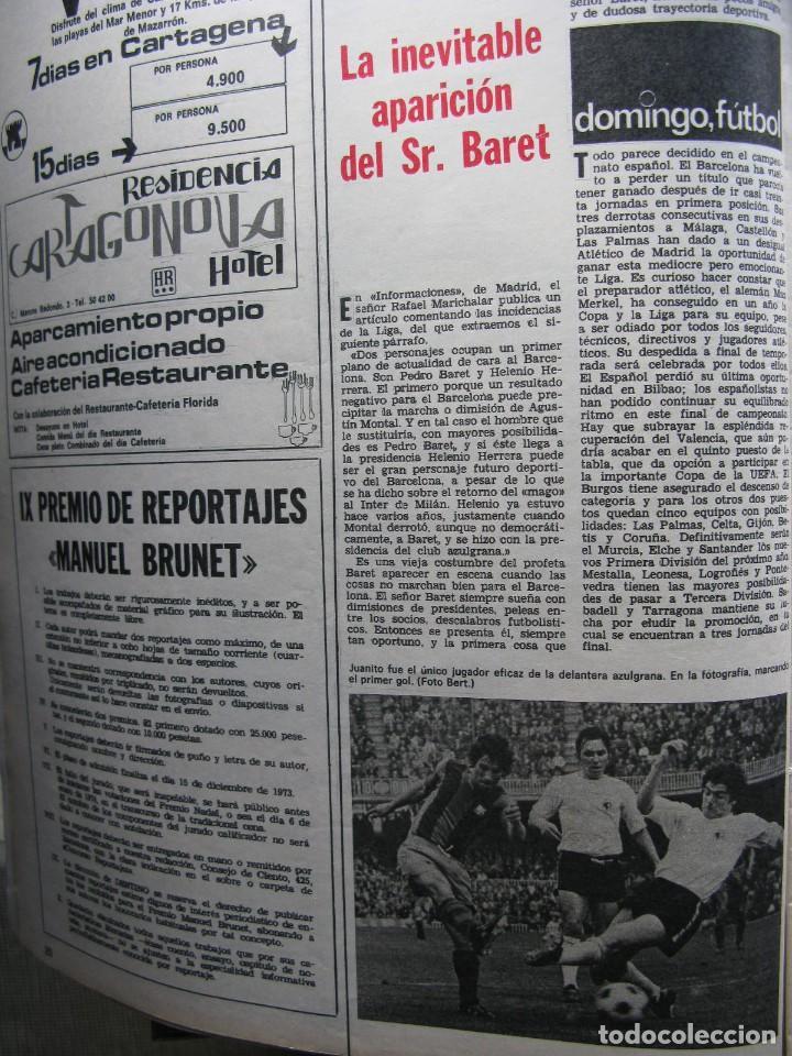Coleccionismo de Revista Destino: PPRLY - 25 ANIVERSARIO DE LA FUNDACIÓN DE ISRAEL. CARTAS DE SEMPRONIO. VER SUMARIO. - Foto 7 - 85890732