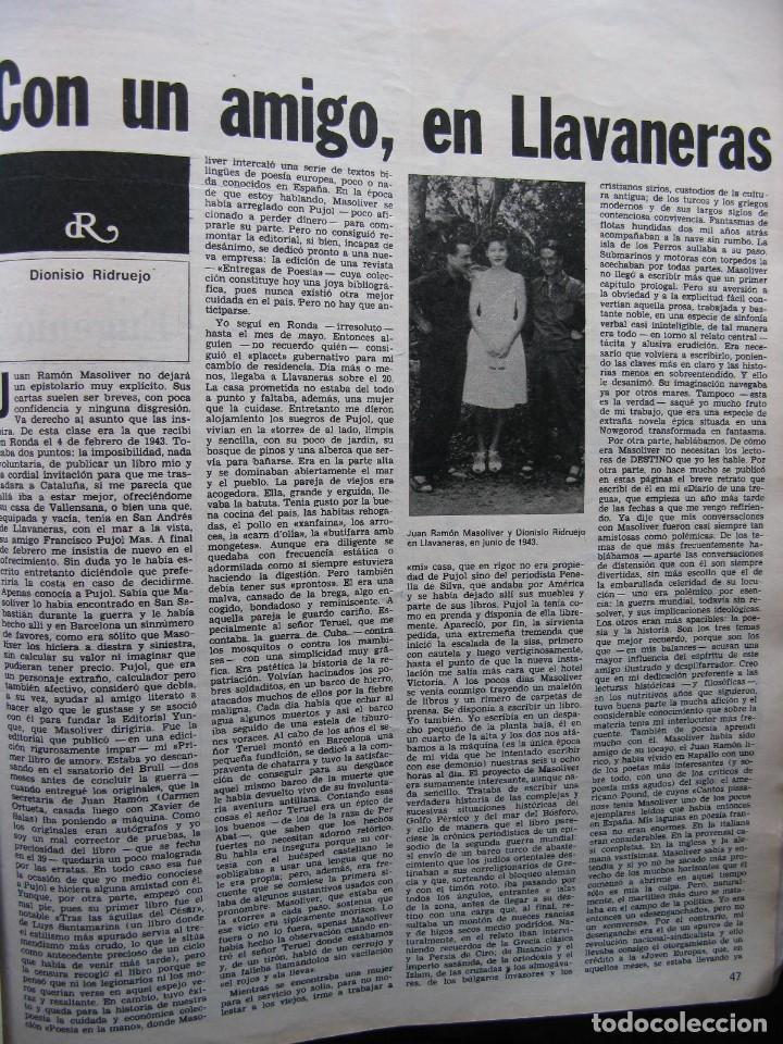 Coleccionismo de Revista Destino: PPRLY - CONCILIO DE DEMONIOS Y TERTULIA DE BRUJAS. HISTORIA DEL HIJO DE COPITO DE NIEVE. VER SUMARIO - Foto 7 - 86037564