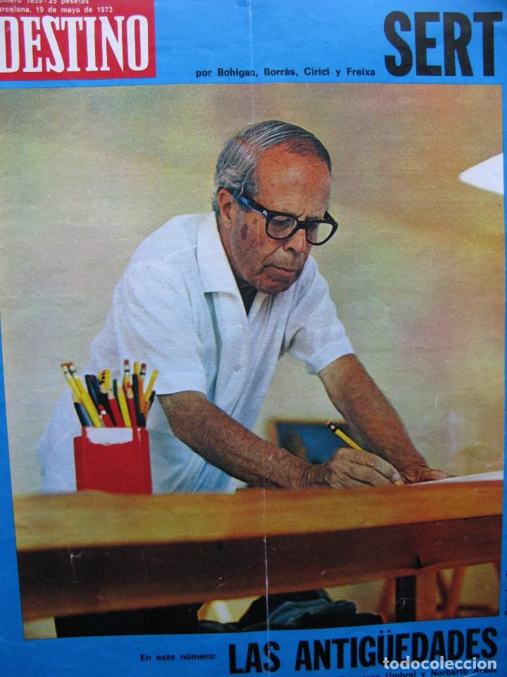 PPRLY - SERT. VER SUMARIO (Coleccionismo - Revistas y Periódicos Modernos (a partir de 1.940) - Revista Destino)