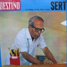 Coleccionismo de Revista Destino: PPRLY - SERT. VER SUMARIO. Lote 86039896