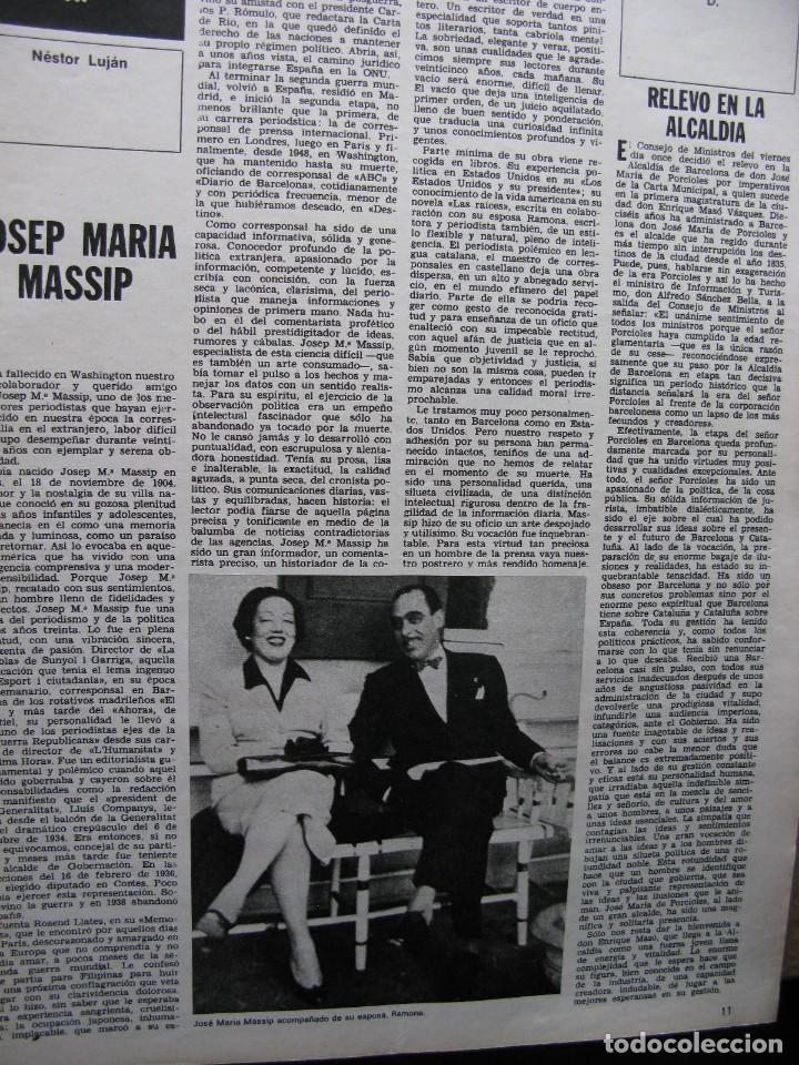 Coleccionismo de Revista Destino: PPRLY - SERT. VER SUMARIO - Foto 4 - 86039896