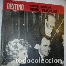 Coleccionismo de Revista Destino: REVISTA DESTINO 1623 / NOVIEMBRE 1968 / NIXON PRESIDENTE / 44. Lote 86466984
