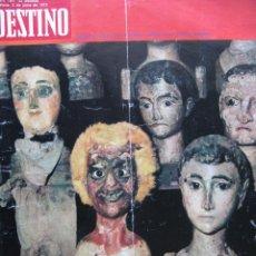 Coleccionismo de Revista Destino: PPRLY - FESTIVAL DE TITELLES JOAN CASTELL. VER SUMARIO.. Lote 87484128