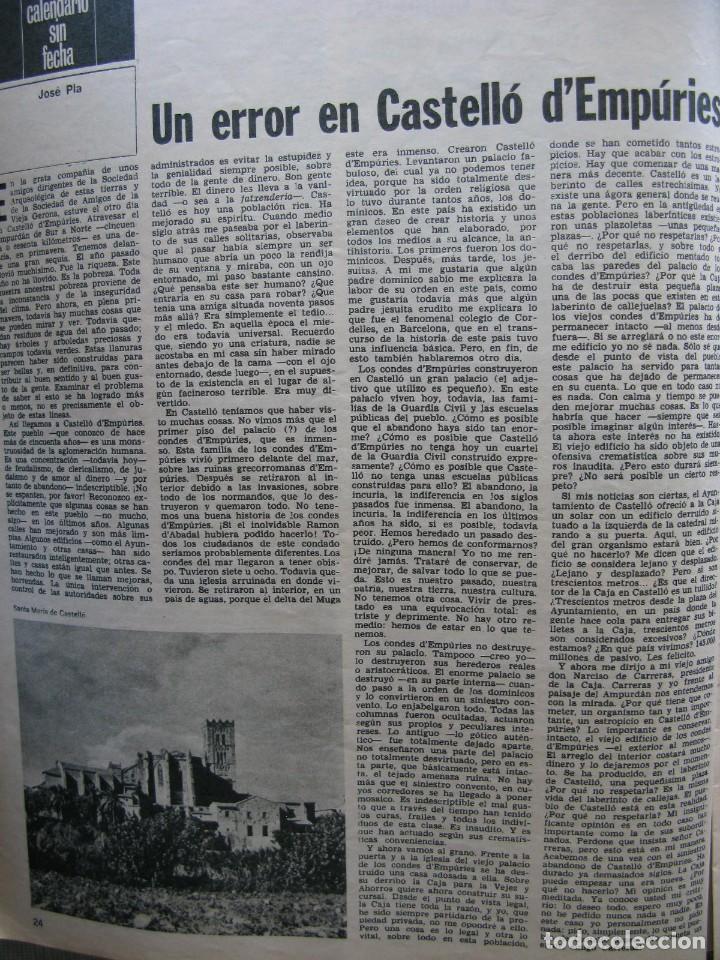 Coleccionismo de Revista Destino: PPRLY - FESTIVAL DE TITELLES JOAN CASTELL. VER SUMARIO. - Foto 5 - 87484128