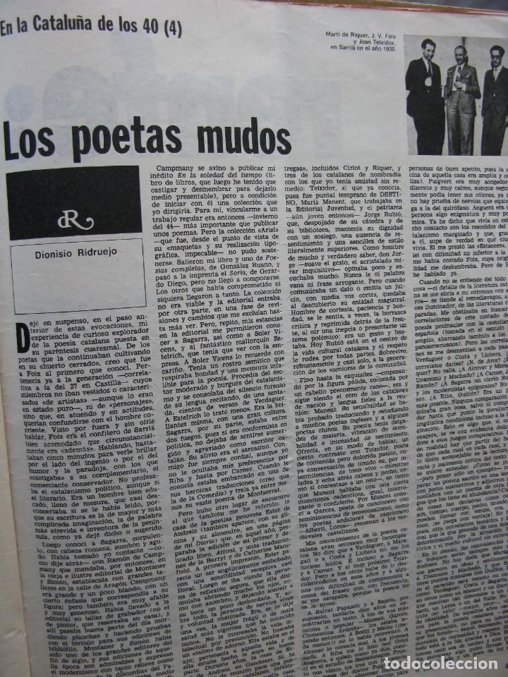 Coleccionismo de Revista Destino: PPRLY - RIESGO Y DESVENTURA DE LA PRIMERA REPÚBLICA. VER SUMARIO. - Foto 8 - 87485948