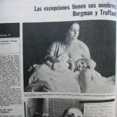 Coleccionismo de Revista Destino: PPRLY - EL CHAMPAÑA, TAN DELICIOSO INVENTO, NESTOR LUJÁN. VER SUMARIO.. Lote 87486348