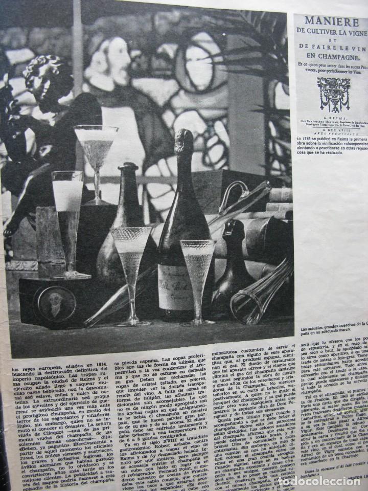 Coleccionismo de Revista Destino: PPRLY - EL CHAMPAÑA, TAN DELICIOSO INVENTO, NESTOR LUJÁN. VER SUMARIO. - Foto 3 - 87486348