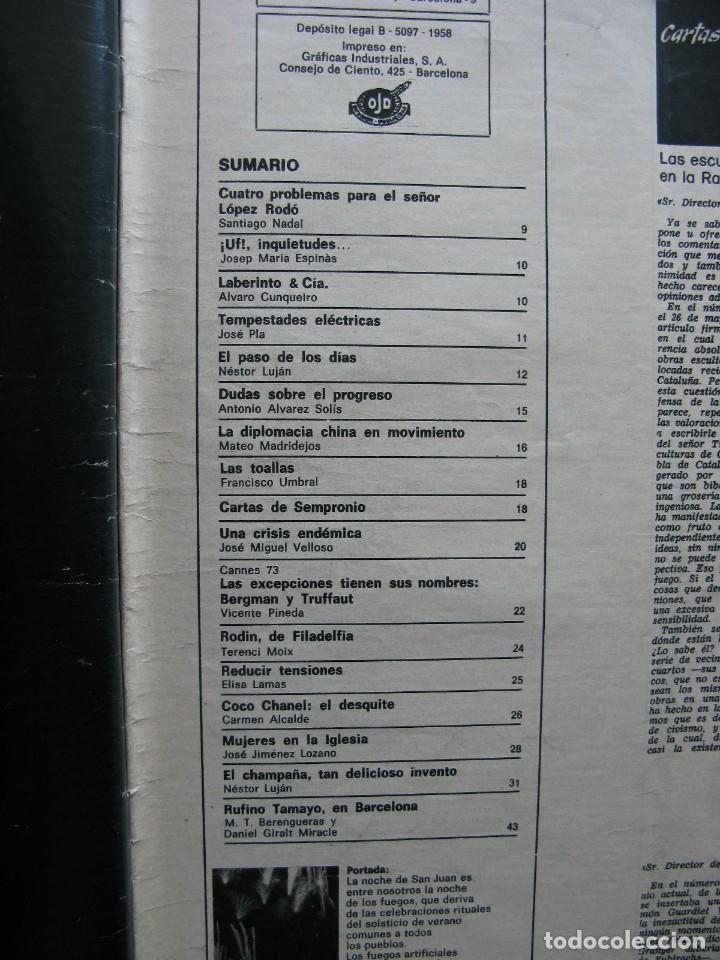 Coleccionismo de Revista Destino: PPRLY - EL CHAMPAÑA, TAN DELICIOSO INVENTO, NESTOR LUJÁN. VER SUMARIO. - Foto 6 - 87486348